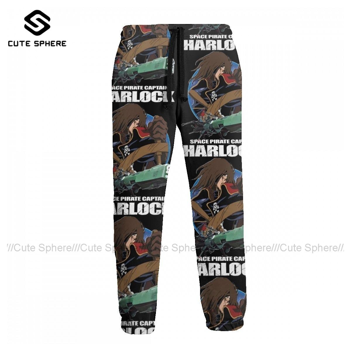 بنطلون رياضي هارلوك سروال رياضي مطبوع رجالي جولف بوليستر سراويل تقليدية