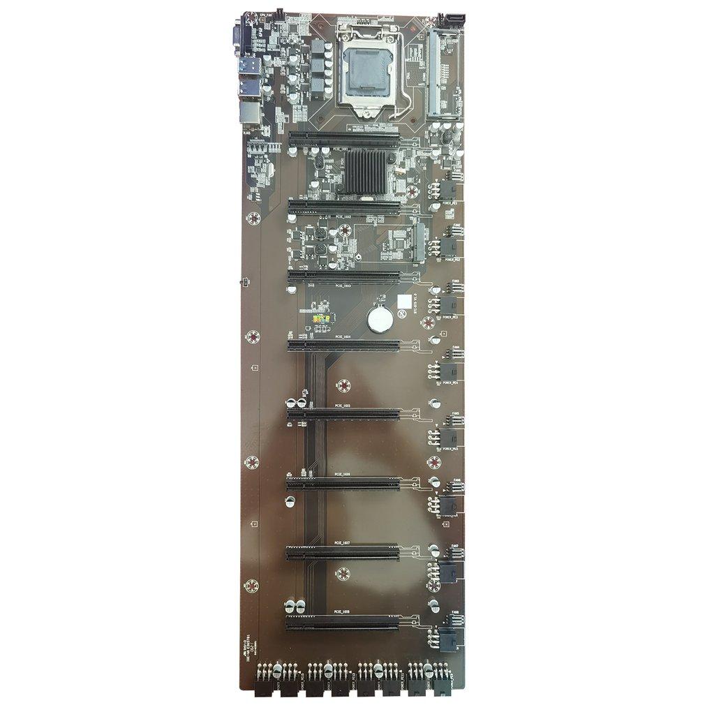 B75 التعدين مجلس اللوحة دعم DDR3 8g SATA3.0 USB3.0 بكيي 16X VGA LGA-1155 ل كمبيوتر مكتبي