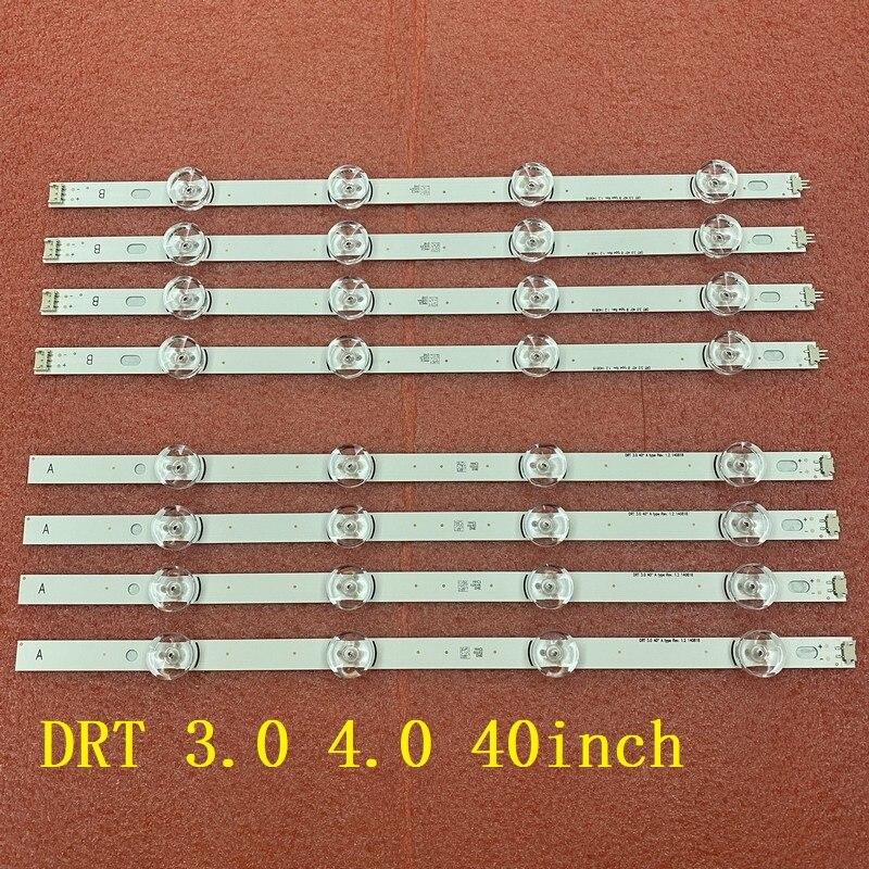 كيت 8 قطعة LED الخلفية ل LG 40LF630V 40LF6300 40LH5300 40LH5700 40LF6350 40LF570V 40LF631V SVL400 6916L-0885A 0884A