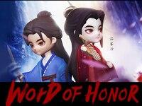 WORD OF HONOR Shan He Ling Wen Kexing Zhou Zishu PVC Figurine Figure Doll Toy 8cm height B