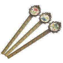 Regla de Metal Vintage multifunción para costura, herramienta de medición, manualidades, accesorios de costura