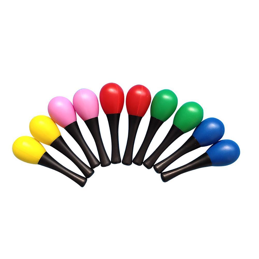 1Pc Baby Kids Maraca Toy Sand Hammer Maraca Rattle Shaker Muiscal Instrument Educational Kids Toy New