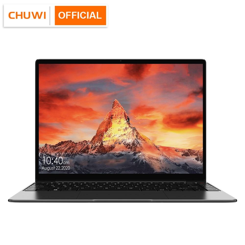 CHUWI GemiBook Pro 14 inch 2K Screen Laptop 12GB RAM 256GB SSD Intel Celeron Quad Core Windows 10 Computer with Backlit Keyboard