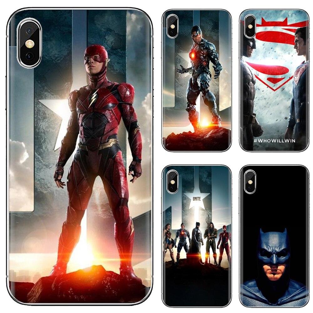 Unique Silicone Phone Case Justice League For Xiaomi Redmi 4A 7A S2 Note 8 3 3S 4 4X 5 Plus 6 7 6A Pro Pocophone F1