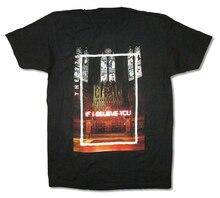 1975 إذا كنت أعتقد أنك كاتدرائية الأسود تي شيرت جديد الفرقة ميرش احتفالي تي شيرت