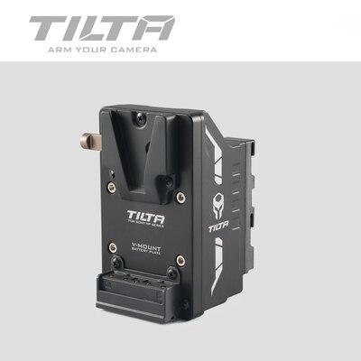 Placa da bateria da montagem de tilta v para a série de sony l das câmeras da came de z ao tipo da placa da bateria do adaptador da v-montagem i que inclina o cinza TA-ABP-G