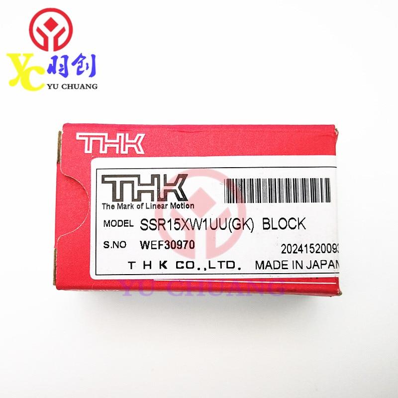 Hot Sale&100%Original THK Silver SSR15XW1UU Slider Linear Guide Slider for Mimaki/Roland Inkjet Printer