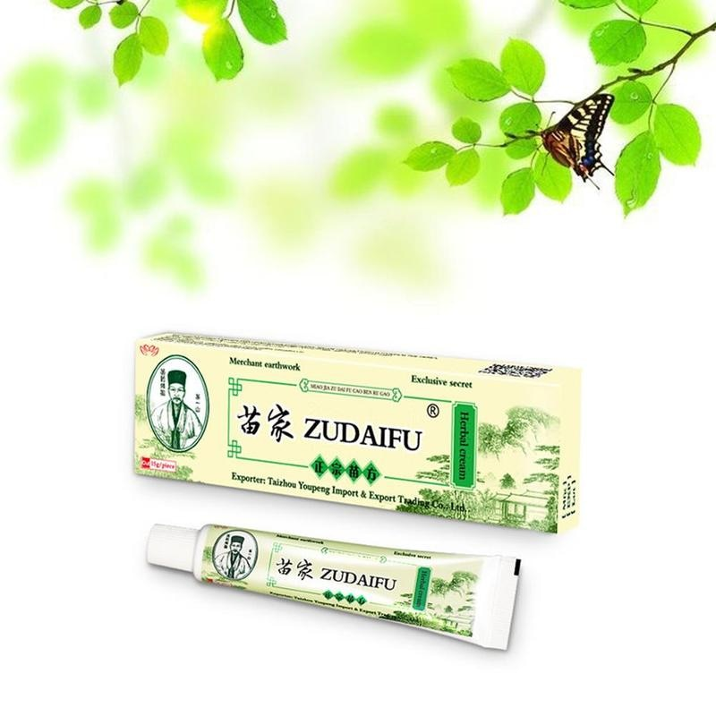 15g Zudaifu la Psoriasis cuerpo CREMA DE CUIDADO DE LA PIEL CREMA para Psoriasis crema para la piel Dermatitis Eczematoid Eczema ungüento tratamiento