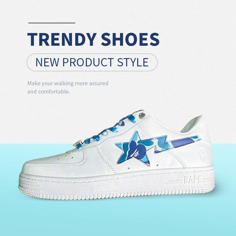 Bapesta tendencia zapatillas de deporte hombres OG-Encuentro de la calle zapatos deportivos...