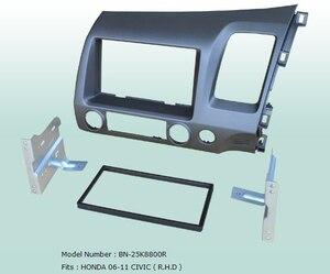 Car Fascias Stereo Audio Panel Navigation Frame Dash Kit For Civic 2006 2007 2008 2009 2010 2011 Right Hand Drive