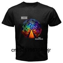 Hommes t-shirt MUSE la résistance Rock bande à manches courtes t-shirt drôle t-shirt nouveauté t-shirt femmes