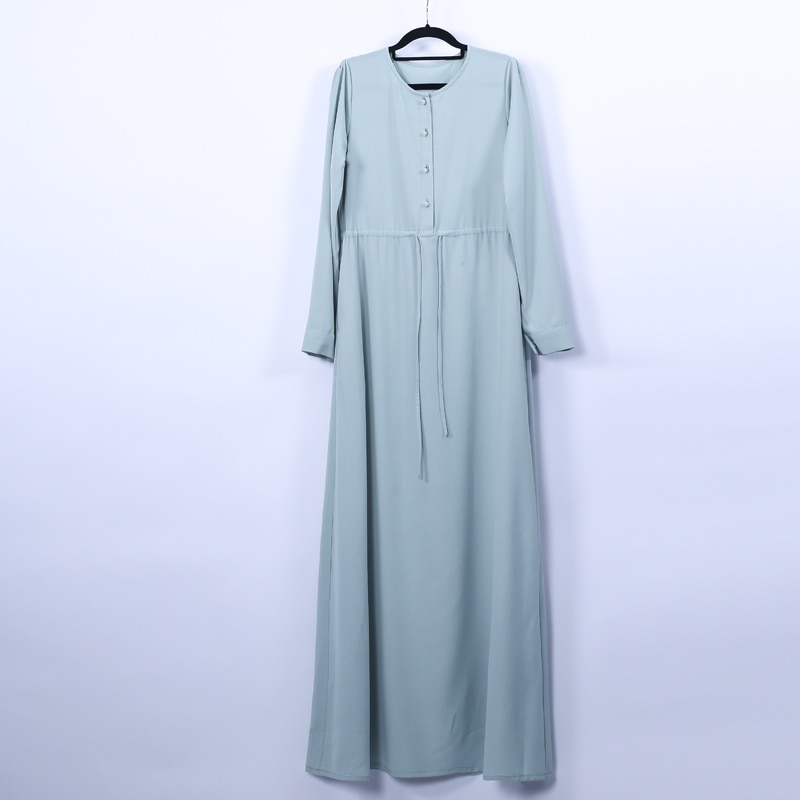 Vestidos largos de kaftán Abaya de Dubái, vestido árabe Maxi musulmán, Hijab, caftán Elbise, Vestidos turcos Jilbab para mujer Musulman
