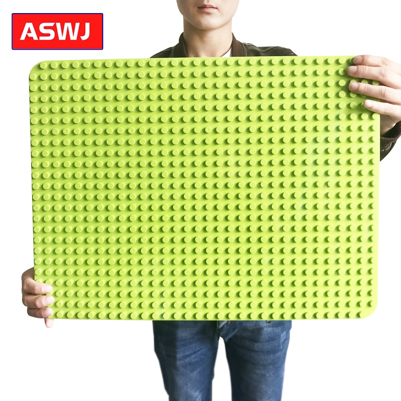 Newest Super Big Bricks Base Plate 764 Dots DIY Large Baseplate Building Blocks Classic Toys Compatible With All Brands