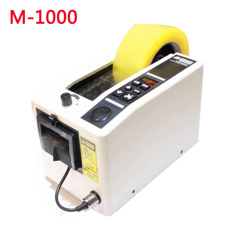 Dispensador de envasado automático de cinta M-1000 cortadora de cinta adhesiva 220V 110V máquina de embalaje máquina de corte de cinta