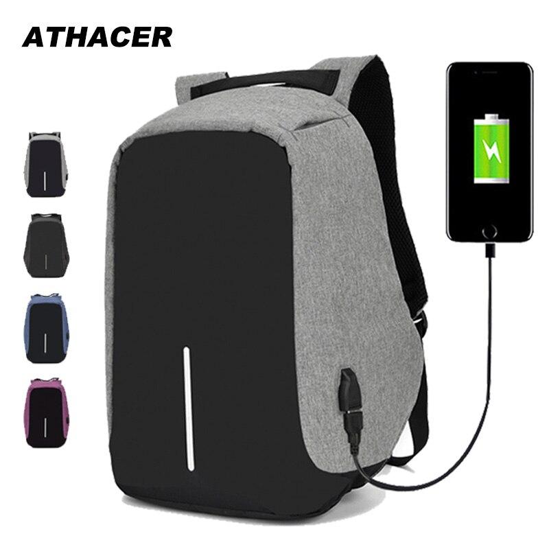 Рюкзак с защитой от кражи, сумка для ноутбука 15,6 дюймов Mochila, мужской водонепроницаемый рюкзак, рюкзак большой емкости, школьный рюкзак