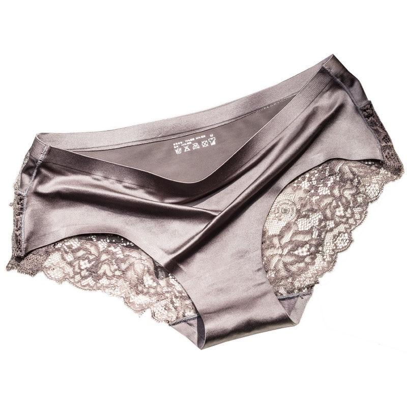 Marca QUCO ropa interior sexy para mujer Bragas de alta calidad para mujer ropa interior sin costuras de Calvin ropa interior sólida de baja altura ropa interior para mujer