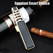 2021 New Pen Spray Gun Jet Butane Pipe Lighter Metal Gas Kitchen Welding Torch Turbo Windproof Cigar
