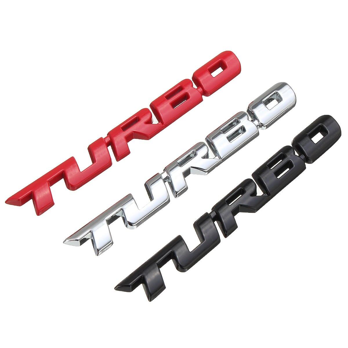 Бренд 3D автомобильный Стайлинг Наклейка металлическая эмблема турбо задний значок задней двери для Ford Focus 2 3 ST RS Fiesta Mondeo Tuga Ecosport Fusion