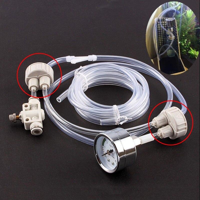 Aquarium CO2 Accessories Generator Part Bottle Cap Newest DIY CO2 System Kits for Aquarium Air Diffuser Generator Equipments