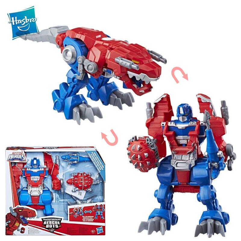 Hasbro Transformers Robots de rescate Playskool héroes Caballero Optimus Prime niños Autobots coche Robots conversión modelo de colección de Juguetes