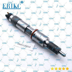 ERIKC 0445120014 Diesel Common Rail Injector Nozzle 0 445 120 014 Fuel Injector 0445 120 014 for Renault 370 Premium