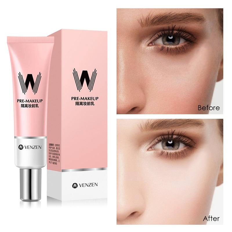 30g Facial Primer Base Makeup for Face Brighten Skin Pore Concealer Oil Control Primer Cream Foundation TSLM2