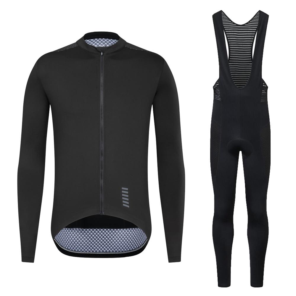 YKYWBIKE-مجموعة ملابس احترافية لركوب الدراجات ، قميص بأكمام طويلة ، ملابس ركوب الدراجات الجبلية القابلة للتنفس ، بدلة رجالية