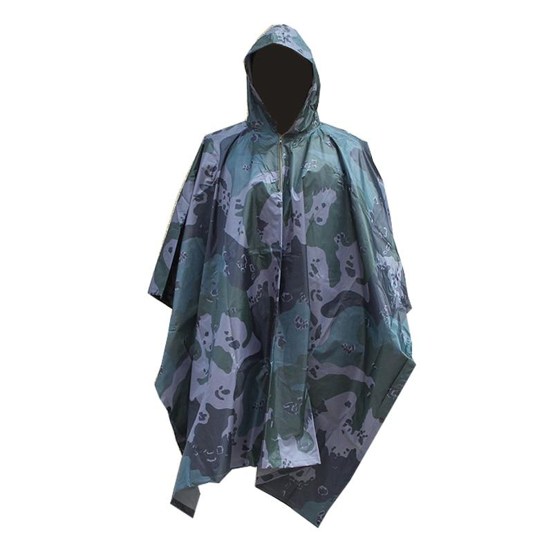 Impermeable, Poncho, mochila, abrigo para hombre, militar, para hombre, Impermeable para mujer, motocicleta de Pvc, ropa de lluvia para una sola persona L