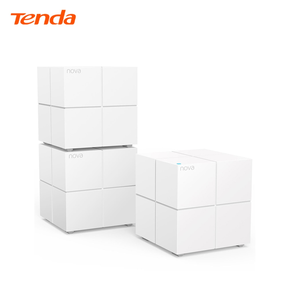 Tenda Nova Mesh WiFi System MW6(mesh3)  Router Repeater Replacement Gigabit Roteador Up to 6000 sq.ft. Whole Home Coverage 3pcs