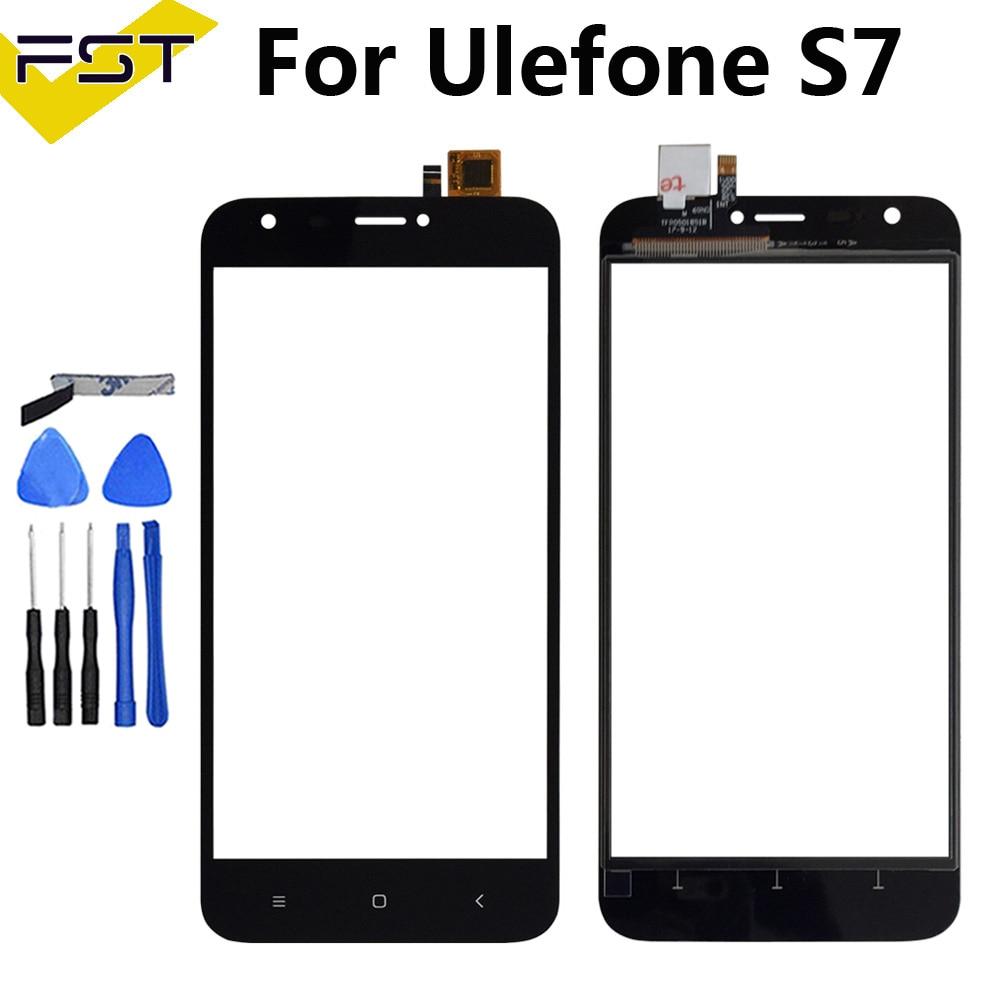 "Para UleFone S7 Digitalizador de pantalla táctil 5,0 ""panel táctil de reemplazo perfecto TP para UleFone S7 accesorio de teléfono + herramientas + adhesivo"
