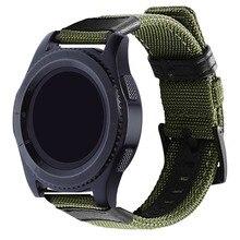 Bracelet de 22mm pour Huawei montre GT GT2 bracelet de montre intelligente Active bracelet de montre en cuir en Nylon pour bracelet magique de montre dhonneur