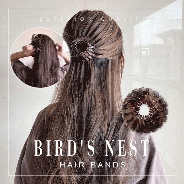 Bird's Nest Hair Bands