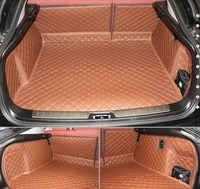 dedicated full surrounded car trunk mats for x6 2015 durable waterproof luggage carpets