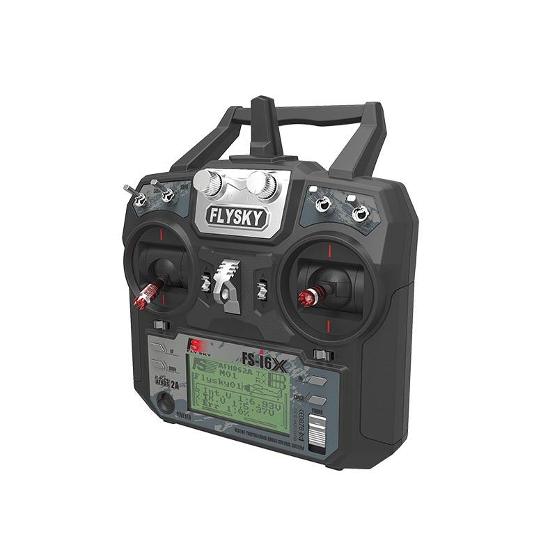 Nuevo control remoto Flysky FS-I6X con IA6B/X6B/I10B receptor 6 canales 2,4G transmisor simulador de vuelo FLYSKY-i6X + IA10B