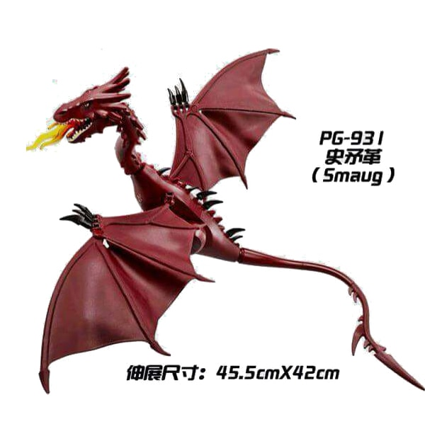 Movie Series  Movie Smaug Bricks Building Anime Figures Educational Learning Toys for children gift PG931