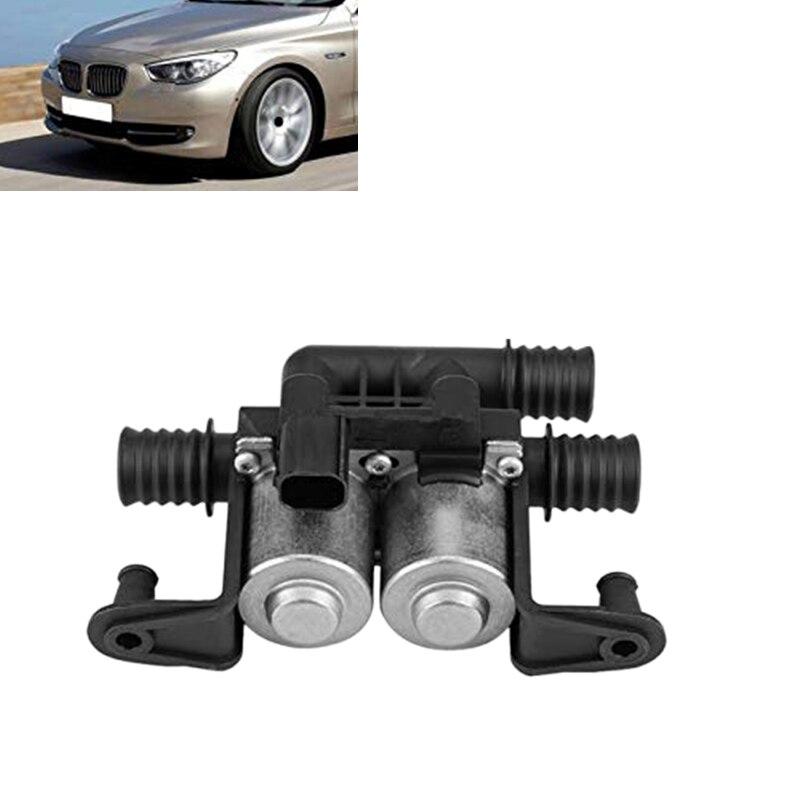 Автомобильный Подогреватель регулирующий клапан Двойной Электромагнитный автомобильный Двойной Электромагнитный аксессуар для BMW 5 серии E38 E39 E46 E53 X5 6412837499