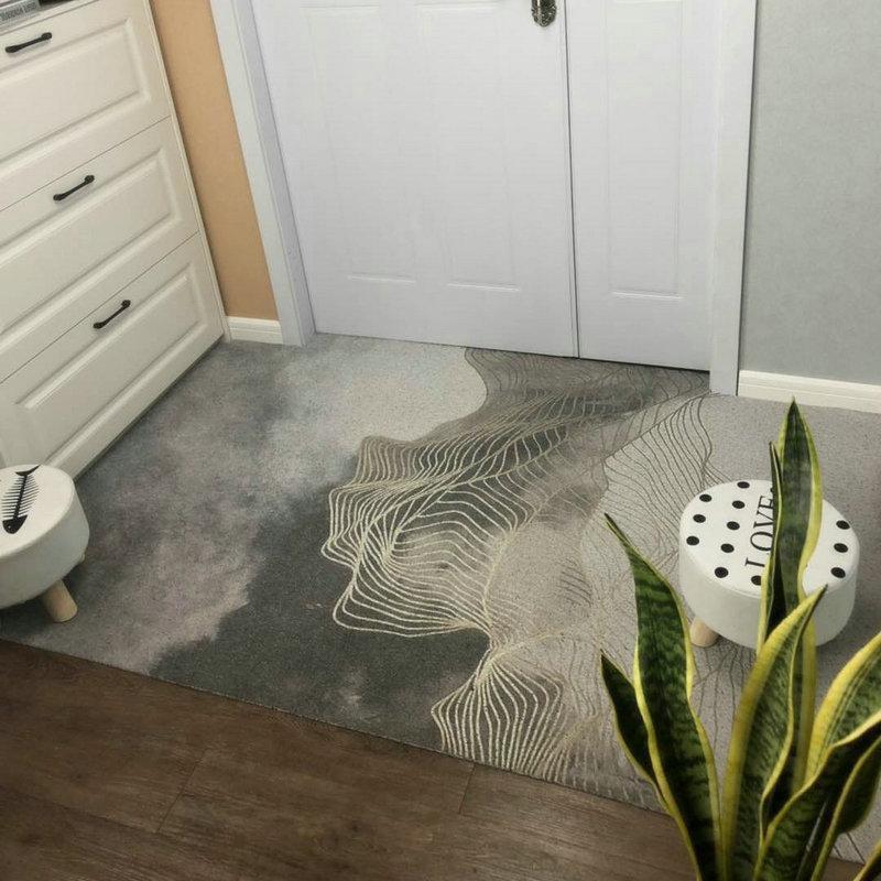 الحديثة الإبداعية الفاخرة الشمال السجاد غرفة المعيشة الطابق السجاد لغرفة نوم ديكور غرفة نوم السجاد Tapete ديكور المنزل BJ50DT