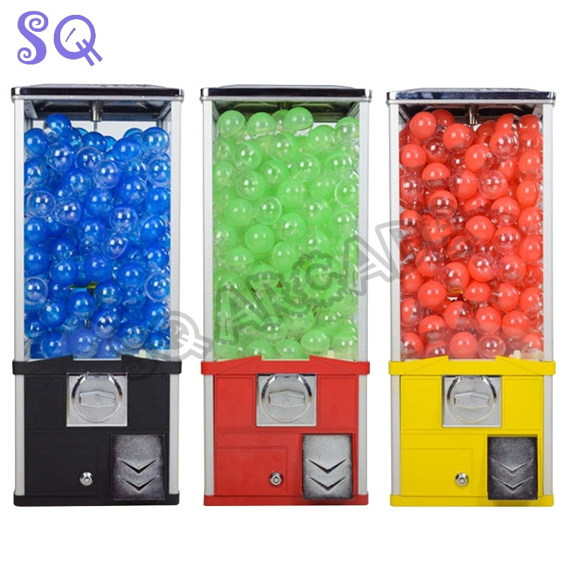 candy vending machine gashapon Gashapon gumball coin acceptor toy Dispenser