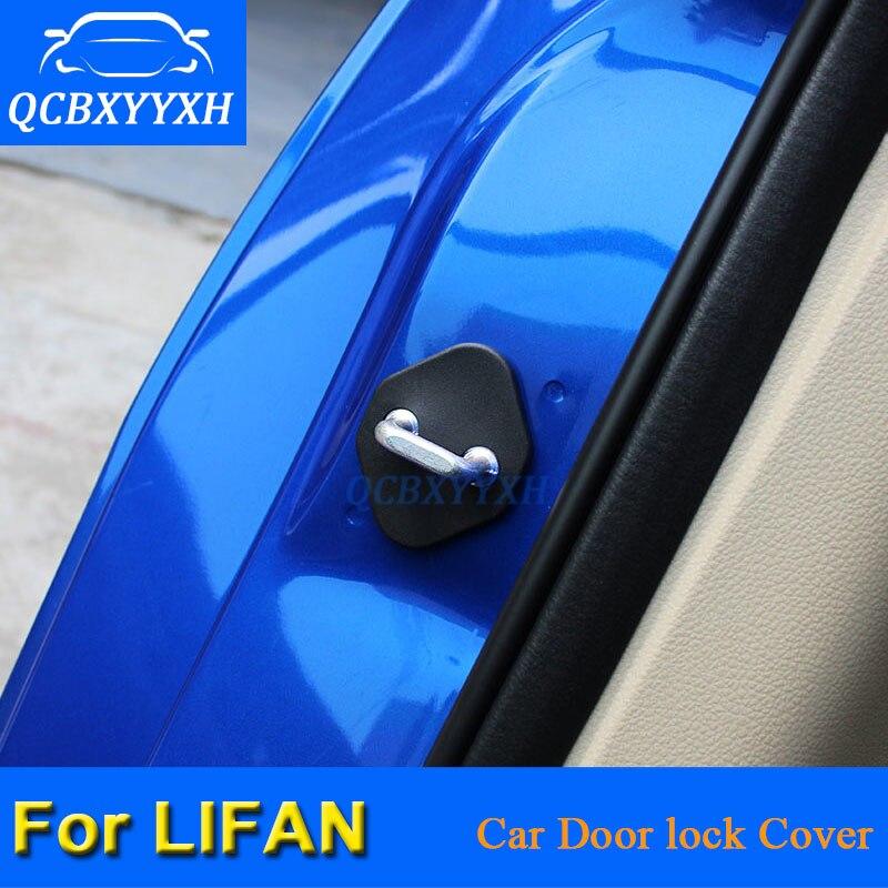 Защитные чехлы для автомобильных замков Lifan X50 X60 620 720, 4 шт./лот, Защитные чехлы для дверей, автостайлинг QCBXYYXH