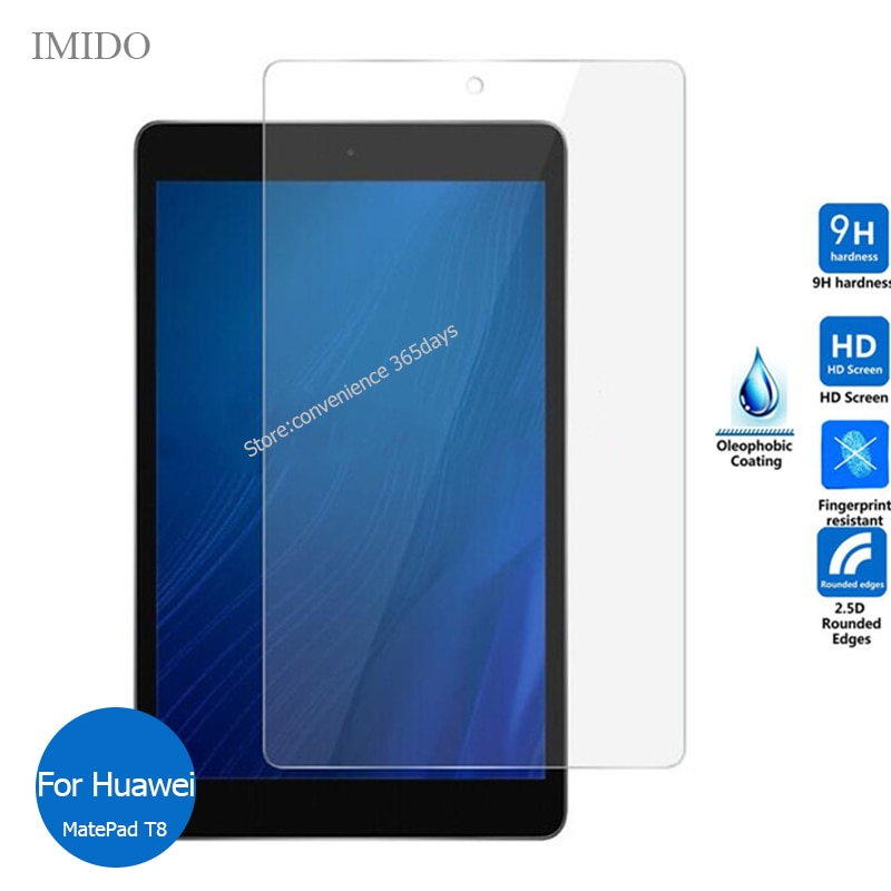 For Huawei Matepad T8 8.0 Tempered Glass Screen Protector Safety Protective Film on Mate pad T 8 Kobe2-L09 Kobe3-L09 Kobe3 L09