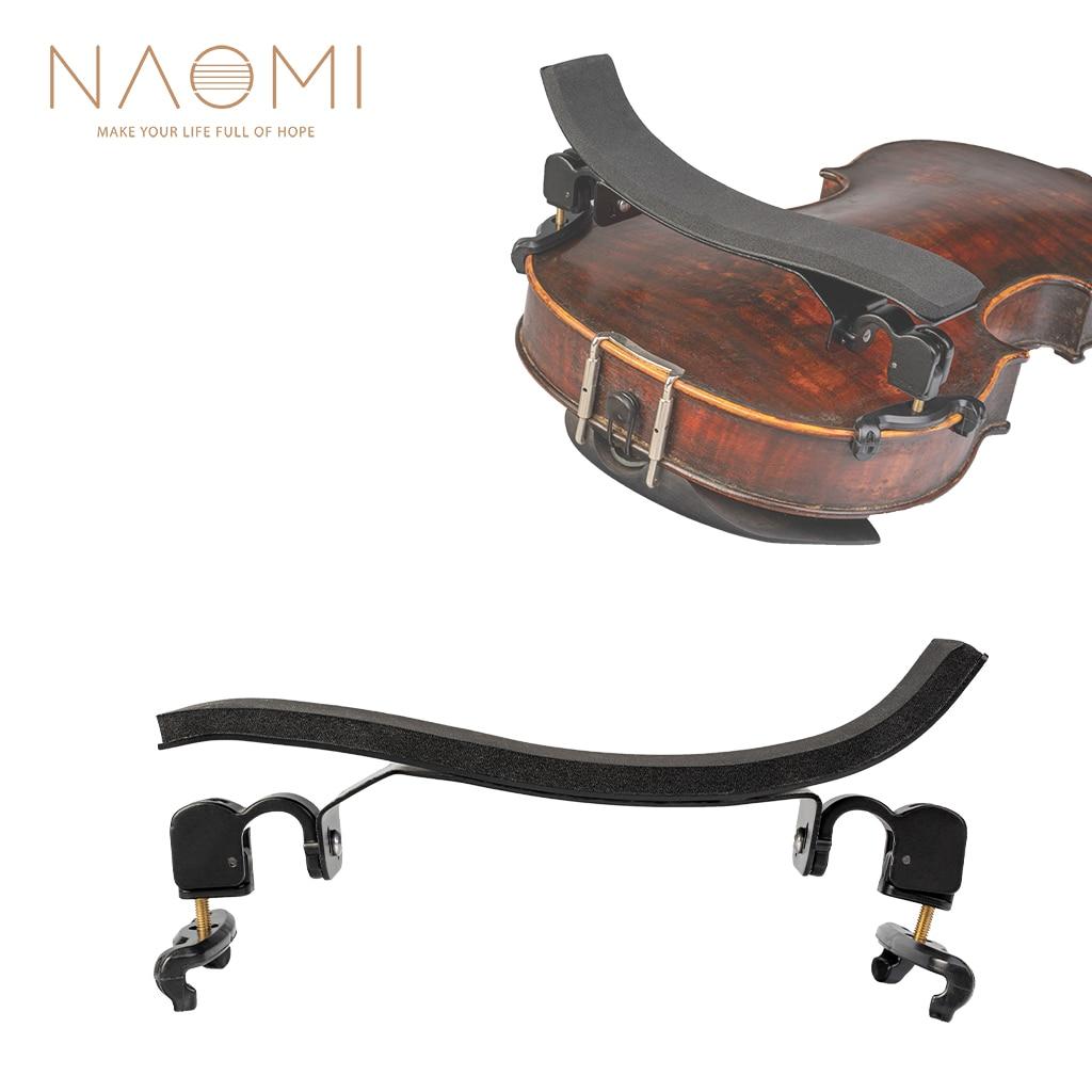 adjustable violin shoulder pad plastic pad 3 4 4 4 violin violin 4 4 violin accessories and accessories NAOMI German Style Violin Shoulder Rest Foam pad+Ti-alloy Stand+Plastic Claws For 3/4 4/4 Violin Fiddle