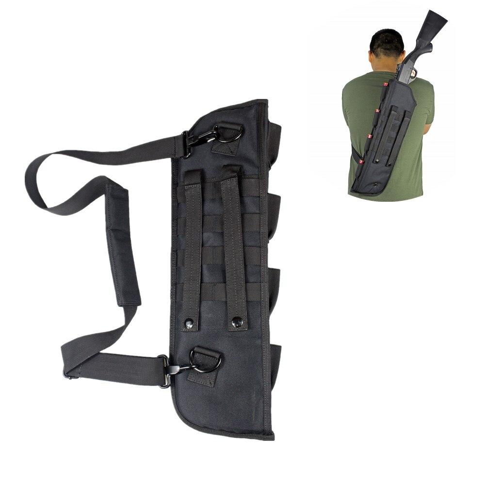 19 дюймовая тактическая сумка-ножны для ружья, Молл, наплечный ремень, чехол, набивная винтовка, кобура