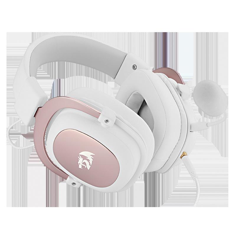 Redragon H510 Zeus-سماعة ألعاب سلكية 7.1 ، وسادة صوت محيطي قابلة للفصل ، سماعة غامرة للكمبيوتر/PS4/هاتف NS