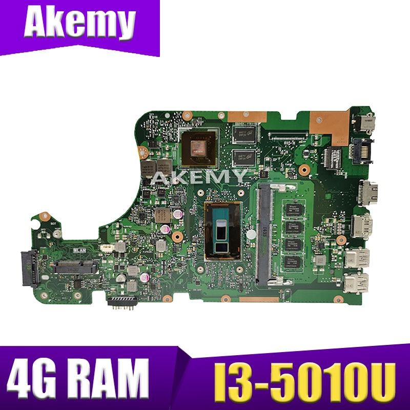 XinKaidi X555LD اللوحة لابتوب ASUS X555LD X555LDB X555LA X555LB X555L X555Test الأصلي Mainboard4G-RAM I3-5010U GT920M
