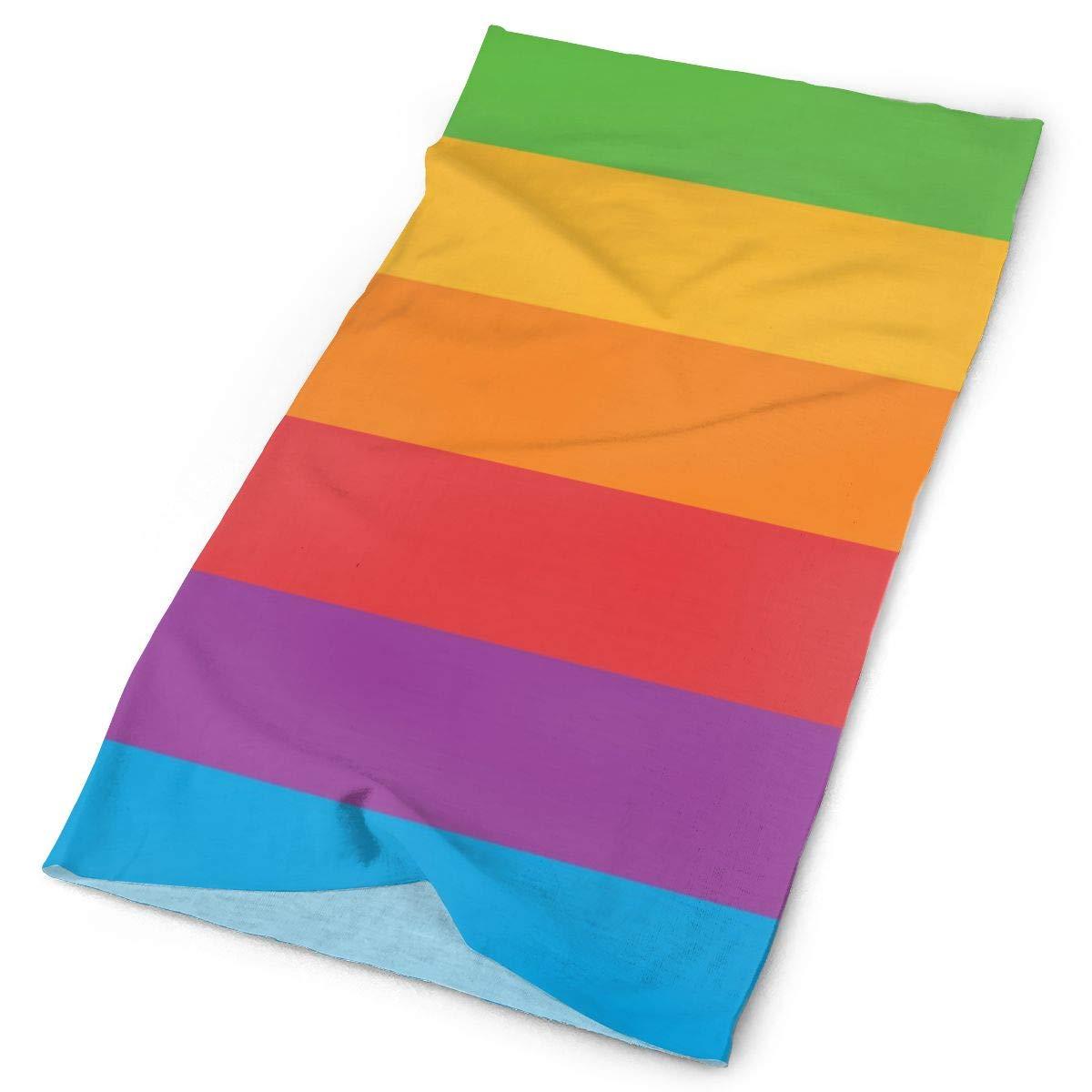 Bufanda mágica sombreros Gay Orgullo LGBT paleta de Color vincha Bandana tapa de tubo máscara Neck Gaiter Headwrap pasamontañas sol UV