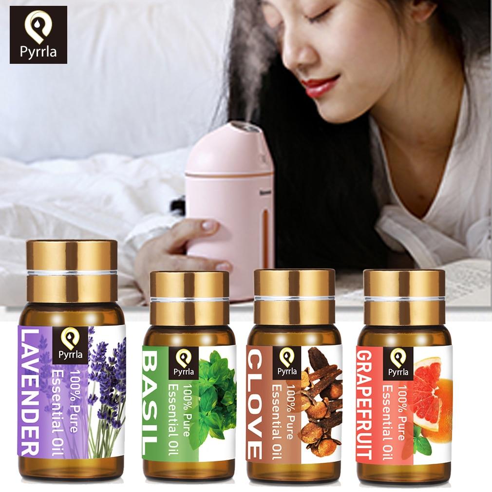 Pyrrla 5ml Aromatherapy Pure Essential Oil Lavender Ylang Grapefruit Vanilla Essential Oils Massage