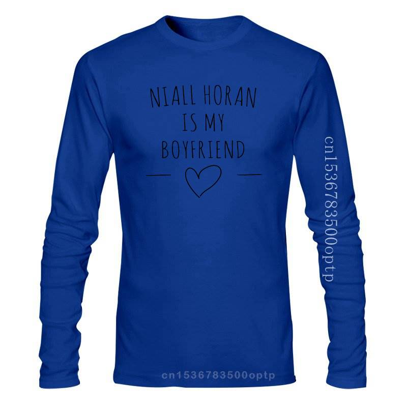 New Niall Horan Is My Boyfriend One Direction T-shirt Unisex 100% Cotton Cotton Casual Shirts White Top