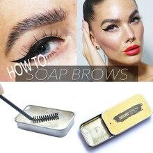 Brow Soap Bar Wax 3D Feathery Brows Makeup Waterproof Long Lasting Brow Kit Women Eyebrow Tint Pomade Cosmetics