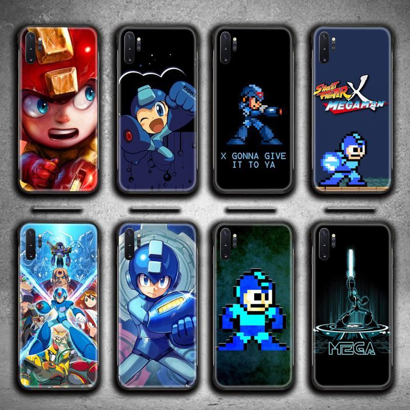 Rockman Megaman juego caja del teléfono para Samsung Galaxy Note20 ultra 7...