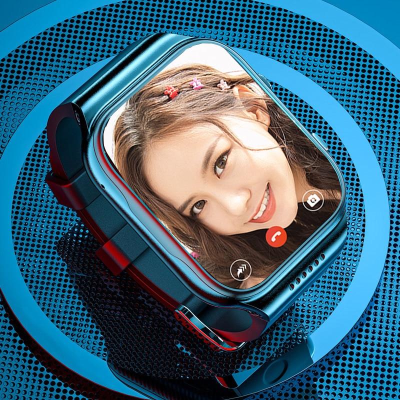 X89 4G Smart Watch Men with SIM Card Camera 5MP Video Heart Rate temperature IP67 Smartwatch WIFI 16